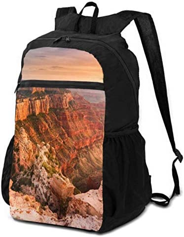 JOCHUAN Casual Travel Daypack for Teens Amazing Views of Grand Canyon Arizona Lightweight Daypack for Travel Lightweight Daypack Travel Lightweight Waterproof for Men & Womentravel Camping Outdoor