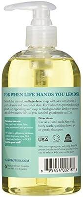 Better Life No Regrets Liquid Hand & Body Soap - Citrus Mint - 12 oz