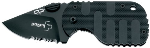 Boker Plus Subcom Black Knife, Outdoor Stuffs