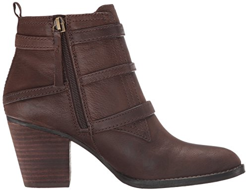 Women's Bootie Ankle Dark Fitz Nine Brown West HCw5qqIA