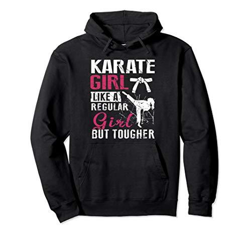 Karate Girl Hoodie Regular But Cooler Martial Arts Gift
