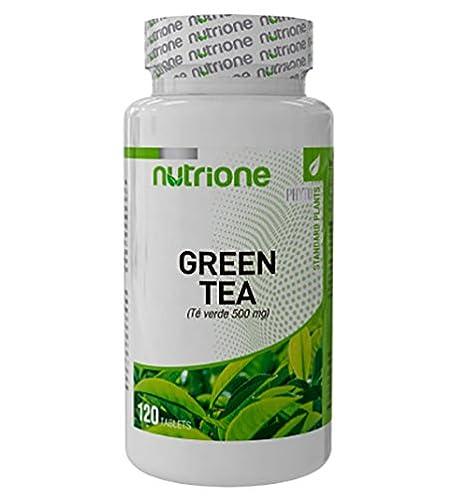 Nutrione - Extracto Seco de Té Verde - 120 Softgels [Nutrione]: Amazon.es: Salud y cuidado personal
