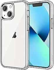 JETech Funda Compatible con iPhone 13 6,1 Pulgadas, Carcasa de Parachoques Prueba Golpes, Respaldo Transparent