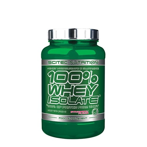 100% Whey Isolate Protein 700g Strawberry Scitec Nutrition 28 servings
