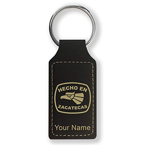 Used, Rectangle Keychain, Hecho en Zacatecas, Personalized for sale  Delivered anywhere in USA