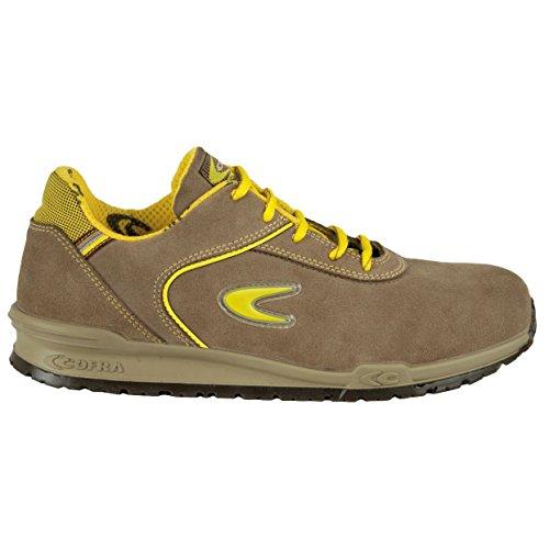 Cofra Schiavio S1P SRC par de zapatos de seguridad talla 38color caqui