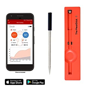 The MeatStick TRUE Wireless Meat Thermometer for BBQ, Grill, Oven, Smoker, Sous Vide Cook perfect meat via Bluetooth for iOS and Android made by  fabulous The MeatStick