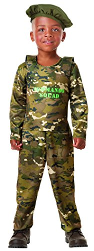 Seasons Army Commando Role Play Costume ()