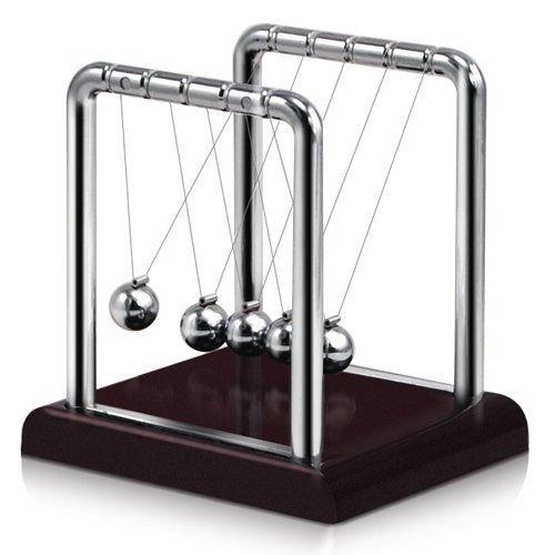Newton's Cradle Steel Balance Ball Physics Science Pendulum Desk Toy Gift US