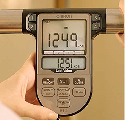 Analyseur de composition corporelle OMRON BF511 validé cliniquement comprenant 8 capteurs de haute précision pour…