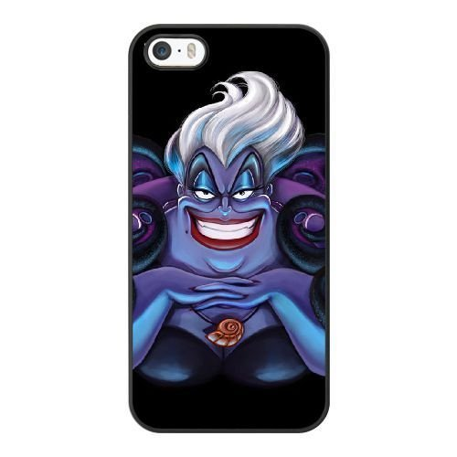 The best gift for Halloween and Christmas iPhone 5 5s Cell Phone Case Black Freak badass Ursula by disney villains VIK9178221]()