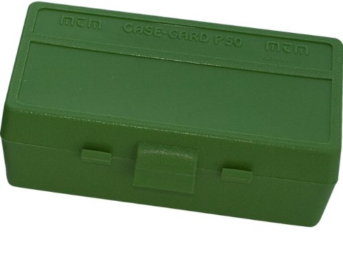 MTM 50 Round Flip-Top Ammo Box 41/44 Cal (Green)