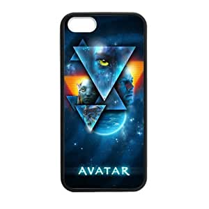 iPhone 5 Case, [Avatar] iPhone 5,5s Case Custom Durable Case Cover for iPhone5s TPU case (Laser Technology)