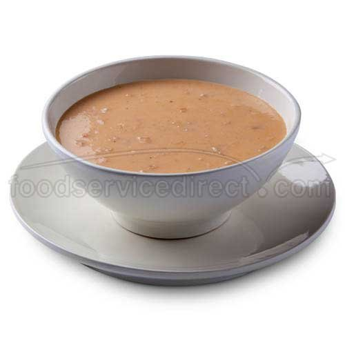 Chef Francisco Lobster and Crab Bisque - 4 lb. tub, 4 per case Creamy Lobster Bisque