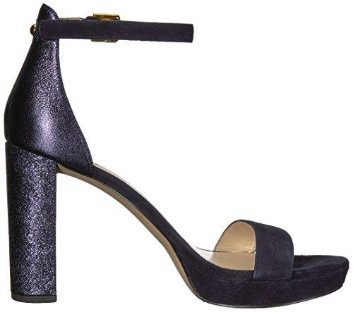 Sandali Con Il Sandalo Con Tacco Metallizzato Nove Delle Donne Dellovest