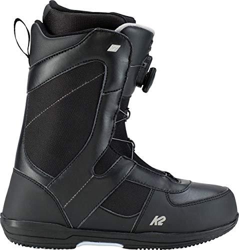K2 Belief Snowboarding Boot 2019 - Women's Black 7 (Best Womens Snowboard Boots 2019)