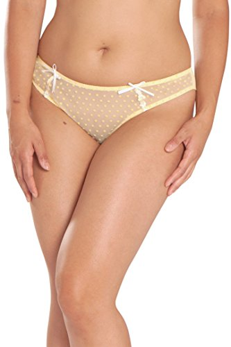 Curvy Kate Women's Princess Brazilian, Lemon, 10