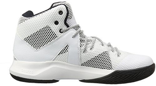 Adidas Performance Men's Crazy Bounce Basketball Shoe White/Black 1/White visit new online free shipping with credit card 5kzyXMG