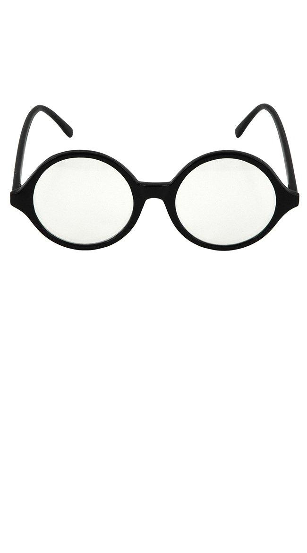 ES77611/54 Black Professor Glasses Clear Lens