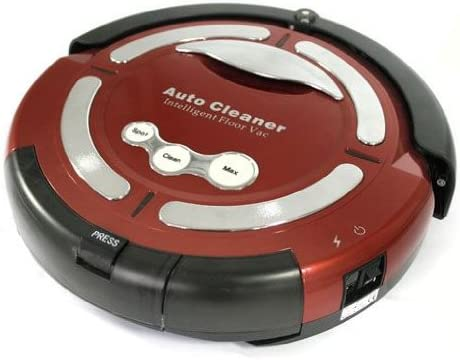 Klarstein Cleanfriend - Robot aspirador automático, color rojo ...