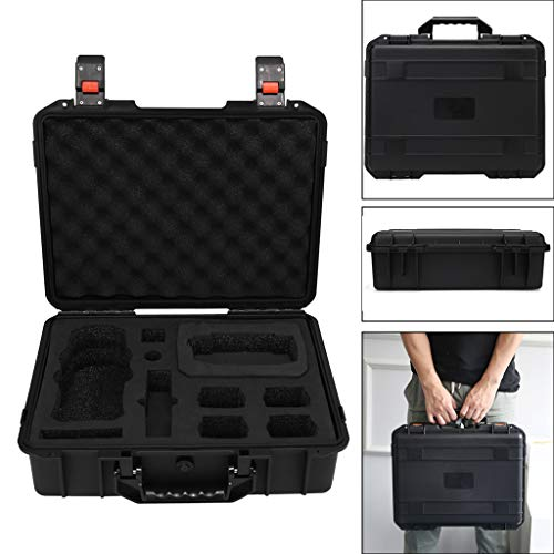 Solovley Drone Military Specification Suitcase, Portable Travel Hard Shell Anti-Shock Waterproof Multi-Functional Storage Case Compatible for DJI Mavic 2 Pro/Zoom & Smart Controller