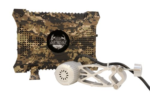Earthquake Shell Shoxx Transducer / Shaker and 320W CAMO Amplifier Gaming Kit with Remote