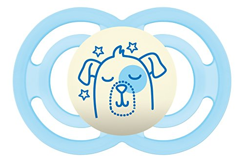 MAM Perfect Night Baby Pacifier, Boy, 6+ Months