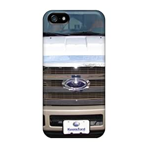 Anti-Scratch Hard Phone Case For Iphone 5/5s With Provide Private Custom Lifelike Ford Truck Pictures EricHowe