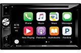 Jensen VX7024 Double Din 6.2' TFT Navigation Multimedia Receiver w/CarPlay