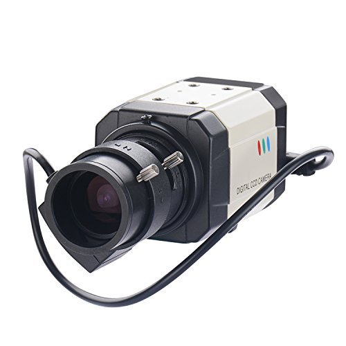 Vanxse Cctv mini 1/3 Sony Effio CCD 960h Auto Iris 1000tvl 2.8-12mm Varifocal Lens Bullet Box Security Camera Surveillance Camera (Cctv Ccd Camera)