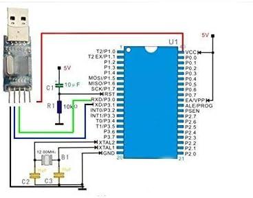 ARCELI USB to RS232 TTL PL2303HX Auto Converter Module Converter Adapter for Arduino