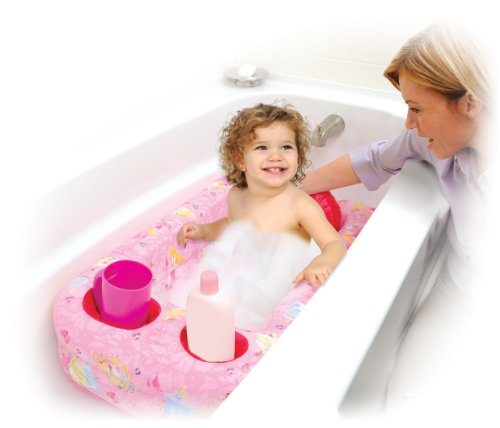 Disney Princess Princesses Bath - Disney Princess Inflatable Safety Bathtub, Pink