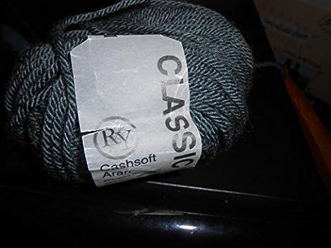 Rowan Cashsoft Aran Yarn (023) Bluet By The Skein - Rowan Cashsoft Aran