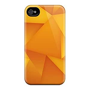 New Fashionable Wade-cases Ugi645oQEG Cover Case Specially Made For Iphone 4/4s(golden Polygons) by Maris's Diary