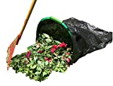 LEAF GULP Turns a Plastic or Bio Lawn and Leaf Bag Into A Hands-Free Dustpan Making Yard Clean-Up A Snap. HGTV - This Product is Pretty Genius. Made in USA