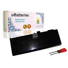 "UBatteries Laptop Battery Apple MacBook Pro 15"" i7 Unibody Series A1382 MC721 MC723 MB985 MB986 - 10.95V, 77.5Whr"