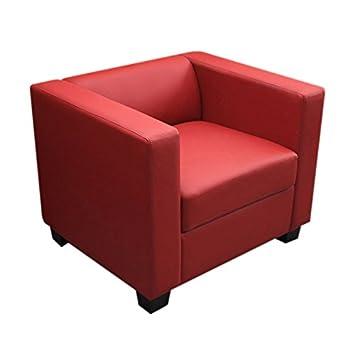 sessel leder rot williamflooring. Black Bedroom Furniture Sets. Home Design Ideas