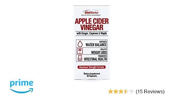 Amazon Com Windmill Dietworks Apple Cider Vinegar Capsules 90 Ea