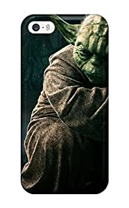 Hot For Iphone 5/5s Premium Tpu Case Cover Jedi Master Yoda Protective Case 8945808K33527001