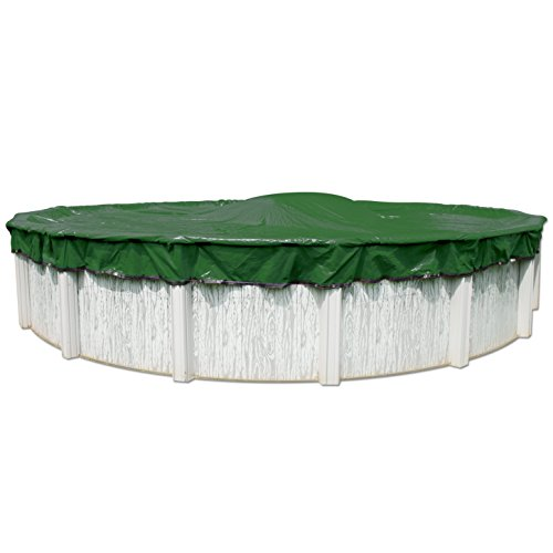 12-Year 24 ft Round Pool Winter Cover With Cover Clips