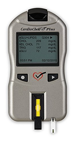 CardioChek Plus Professional Cholesterol/Glucose Analyzer - Version 1.09 - Clia Waived - Made in USA by CardioChek