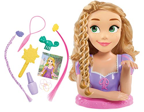 Disney Princess Deluxe Rapunzel Styling Head Doll (Brush Hair Doll)