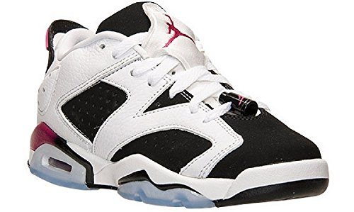 Air Jordan 6 Retro Low GG (White/Sport Fuchsia-Black) (7) by NIKE