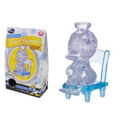 Crystal Gallery Petit Friends Donald Duck clear (japan import) by Hanayama