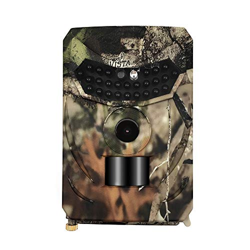 Cheap Geilivity Trail Camera 12MP 1080P Wide Angle 940nm No Glow IR LEDs Night Vision Motion Activated Hunting Camera Fast Trigger IP56 Waterproof Easy Operate Wildlife Cam Home Security System