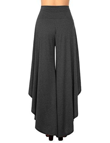 Baishenggt Donna Dark Sportivi Grey Bootcut Pantaloni 0wATrq0