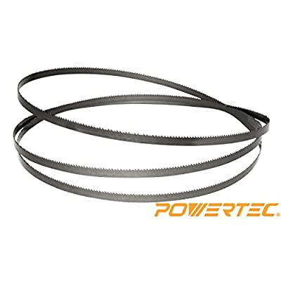 POWERTEC 13183X Band Saw Blade 70-1/2-Inch x 1/8-Inch x 14 TPI x 0.025 by POWERTEC