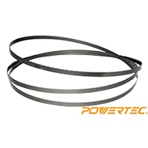 POWERTEC 13186X Band Saw Blade 70-1/2-Inch x 1/2-Inch x 3 TPI x 0.025