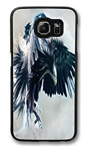 Attacking Falcon PC Case Cover for Samsung S6 and Samsung Galaxy S6 Black