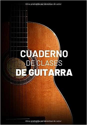 Cuaderno De Clases De Guitarra: Planificador Semanal de 52 Semanas ...